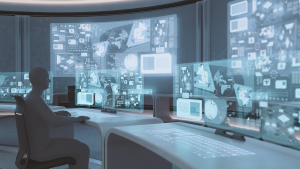 Header image of futuristic command centre