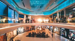 Retail futuristic day in the life scenario for 2025